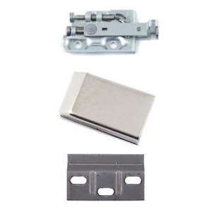 Cabinet Wall Hanging Bracket & Wall Hanging Plates Left & Right Hand With Covers