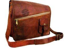 Men's Leather Jeep Cross Body Shoulder Letter Messenger Bag Casual Sling Handbag
