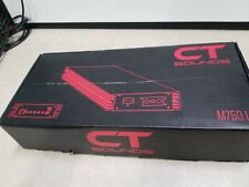 CT Sounds 750.1 amp Amplifier 750w RMS / 1500w MAX  Channel New Open Box
