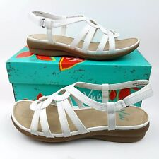 0c4baeb32cb3 Flat (0 to 1 2 in) Women s Sandals Faux Leather 9.5 Women s US Shoe ...