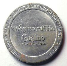 New ListingUnusual 1979 Westward Ho Casino - $1.00 Gaming Token - Las Vegas, Nv