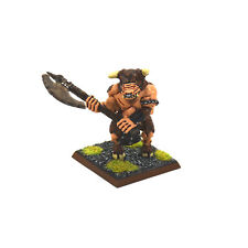 BEASTMEN Minotaur #5 WELL PAINTED METAL Warhammer Fantasy