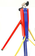 New Konig & Meyer Music Stand 60 In. Red Yellow Blue Made in Germany