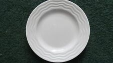 "Set of 2 Lenox Spyro White 9"" Accent or Salad Plates  NEW"