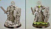 Warhammer 40k Space Marine Primaris Captain w/Power Sword & Relic Shield *NoS*
