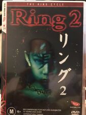 Ring 02 (DVD, 2003) Japanese Origin - Like New Condition - Free Post!