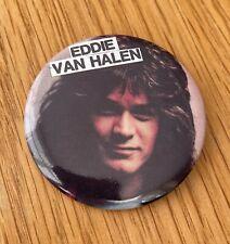 More details for eddie van halen vintage metal pin badge from the 1980's heavy rock guitar