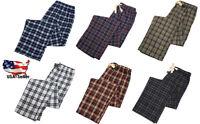 Majestic International Mens Cotton Flannel Sleep Lounge Pajama Pant