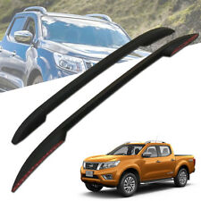 ROOF BAR RACKS ROLL BAR MATTE MATT BLACK FIT FOR NISSAN NAVARA NP300 2014-2017