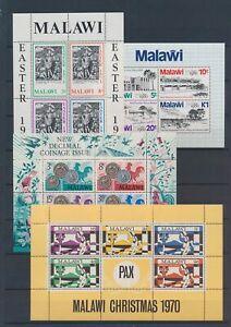 XC89366 Malawi mixed thematics sheets XXL MNH