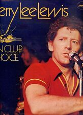 JERRY LEE LEWIS fan club choice UK EX LP