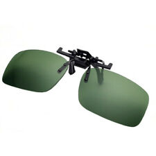 Flip Up Clip On Polarized Sunglasses And Night Driving