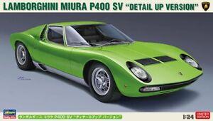 Hasegawa 20439 1:24th scale Lamborghini Miura P400 SV 'Detail Up Version'