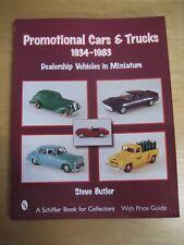 VINTAGE PROMOTIONAL CARS & TRUCKS DEALERSHIP VEHICLES IN MINIATURE 1934-1983