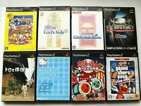 Lot of 8 PLAYSTASION2 Used Game set JAPAN PS2 Bomberman JP NTSC-J (Japan)