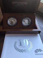 2007-W PLATINUM EAGLE 1/2 Oz 10th Anniversary Set With OGP. $50 Platinum Eagles