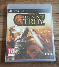 WARRIORS LEGENDS OF TROY Jeu Sony PS3 Playstation 3 Neuf Sous Blister Rare VF