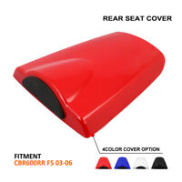 Pillion Rear Seat Cover Cowl For Honda CBR600RR 2003-2006 2005 Motorcycle
