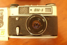 Soviet Russian Vintage Camera FED 5 И-61 2.8/55 Л/Д Lens Original BOX Working!