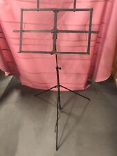 Vintage Two Piece Metal Sheet Music Stand, that folds up into a compact size