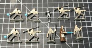 Micro Machines - Star Wars - Episode 1 figures - gungans and others