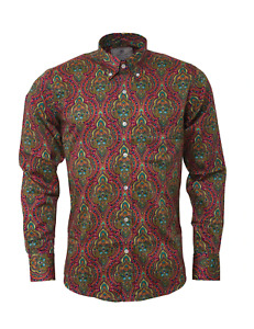 Mens Psychedelic Shirt • Platinum Collection • Relco