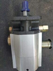 Bucher 16 GPM Hydraulic Log Splitter Pump 2 Stage mdl: 2sp160, NEW PUMP, No Box