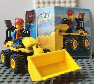 Lego City Bagger Radlader Set 7246