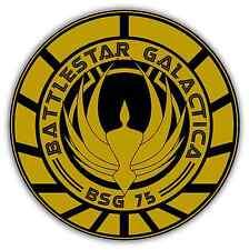 """Battlestar Galactica Car Bumper Window Sticker Decal 4.6""""X4.6"""""""