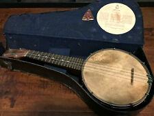 Vintage/Antique DULCETTA Banjo/Ukulele/Banjolele - John Grey & Sons London 1920s