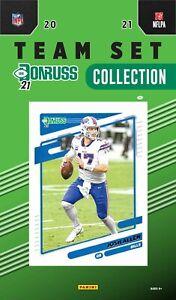 Buffalo Bills 2021 Donruss Factory Team Set Greg Rousseau Rated Rookie Card PLUS