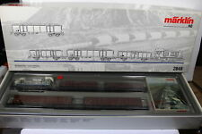 Märklin 2848 Diesel Locomotive Train Set 5 PC Raw Material C.C B.Belgium Gauge