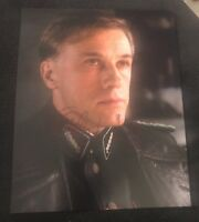 CHRISTOPH WALTZ SIGNED 8X10 PHOTO INGLOURIOUS BASTARDS W/COA+PROOF RARE WOW