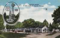 Postcard Dutch Motel Augusta GA Georgia