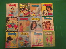 More details for 12 issues of mandy - picture story library for girls - no's 2 to 16 - 1978-79
