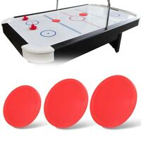 4pcs Plastic Air Ice Hockey Pucks Piece Replaceable for Tables Game Equipments A