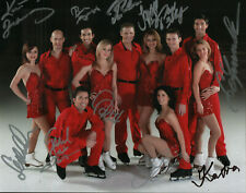 Stars on Ice cast 2011 REAL hand SIGNED photo by all 11 Olympic Figure Skaters