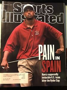 Sports Illustrated Oct 1997. Tiger Woods Cover Ryder Cup