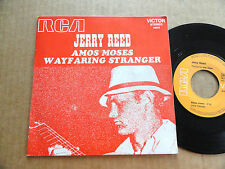 """DISQUE  45T DE JERRY REED  """" AMOS MOSES """""""