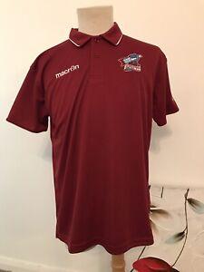 Scunthorpe United Macron Polo Shirt. Adults Large