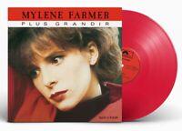 Mylene Farmer Maxi 45Tours vinyle Plus Grandir Exclusivité couleur Rouge