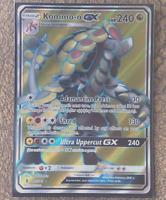 Pokemon Card   KOMMO-O GX  Ultra Rare FULL ART  141/145  GUARDIANS RISING *MINT*