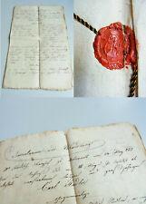 Dokument UNTERNALB (Retz / NÖ) 1822: Inventar & Nachlass v. Karl STADLER (†1822)
