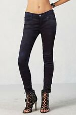 New True Religion Joan Smalls Satin Stretch Jeans Legging Navy Blue Size : 28