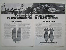 4/1976 PUB PRATT & WHITNEY CANADA PT6 TURBINE POWER MEDIUM LIFT HELICOPTER AD