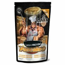 Max's Supplements HIGH PROTEIN PANCAKES 300g 3Serves, Energy Production*AUS Made