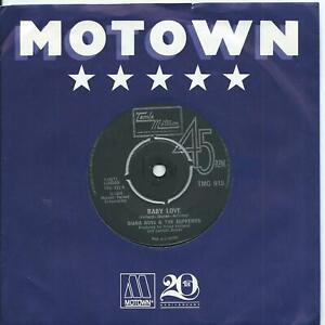 Diana Ross & The Supremes:Baby love/Ask any girl:UK Tamla Motown:TMG 915