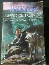 Libro Juego De Tronos.  Canción De Hielo Y Fuego /1