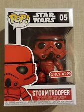 Funko Pop! Star Wars Red Stormtrooper Target RedCard Exclusive