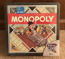 2008 Retro Monopoly Board Game in Black Box Parker Brothers Wood Hotels